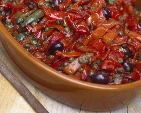 Food, Ingredient, Cuisine, Dish, Produce, Recipe, Bell peppers and chili peppers, Vegetable, Condiment, Bowl,