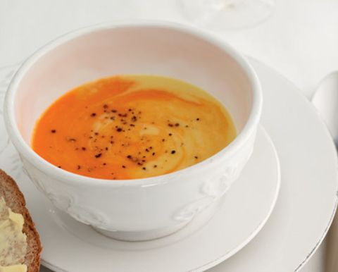 Serveware, Dishware, Food, Tableware, Ingredient, Dish, Cuisine, Orange, Soup, Peach,