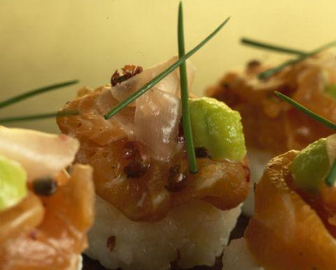Food, Cuisine, Ingredient, Dish, Finger food, Recipe, appetizer, Garnish, Side dish, Delicacy,