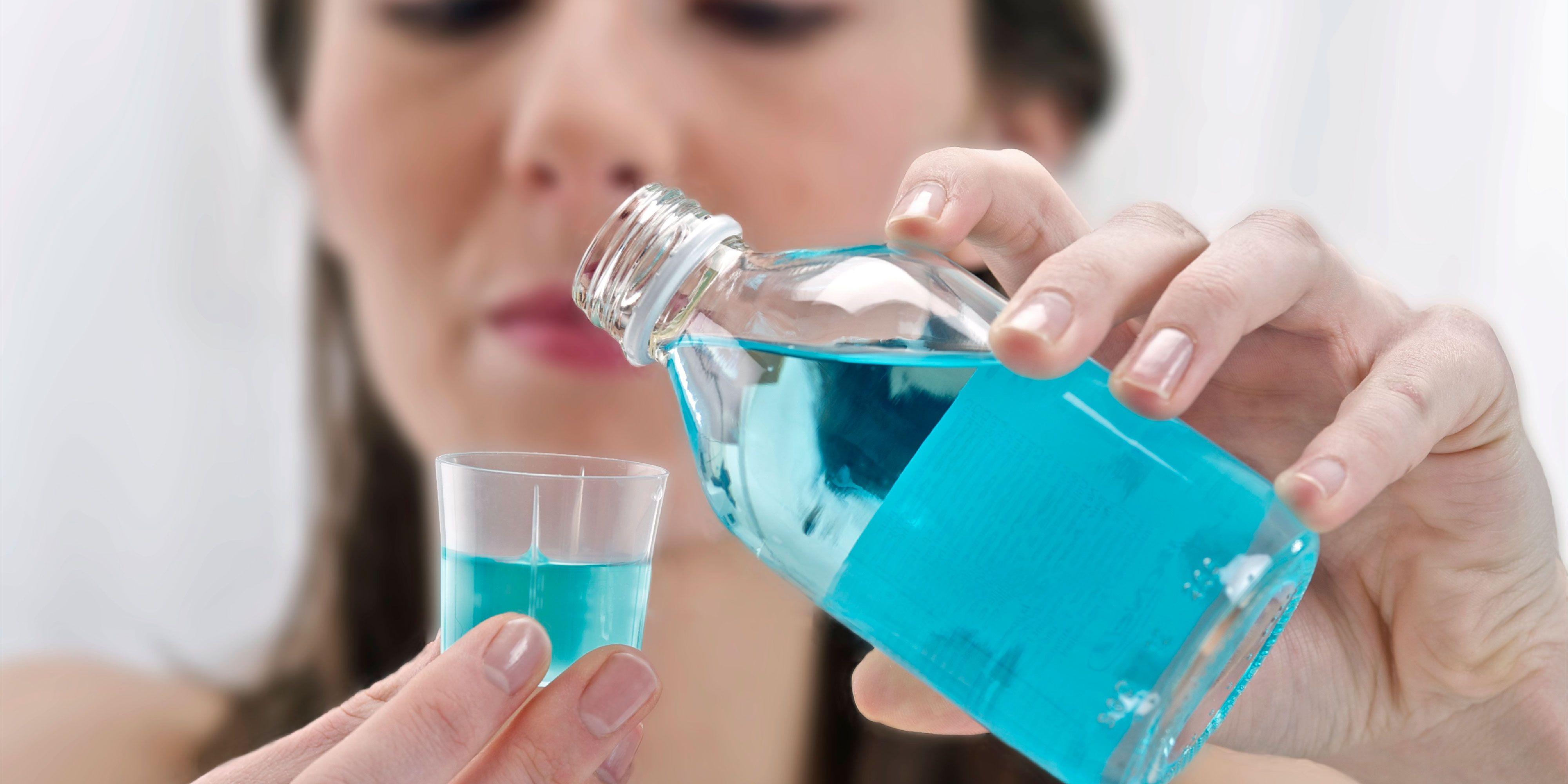 Image result for using mouthwash
