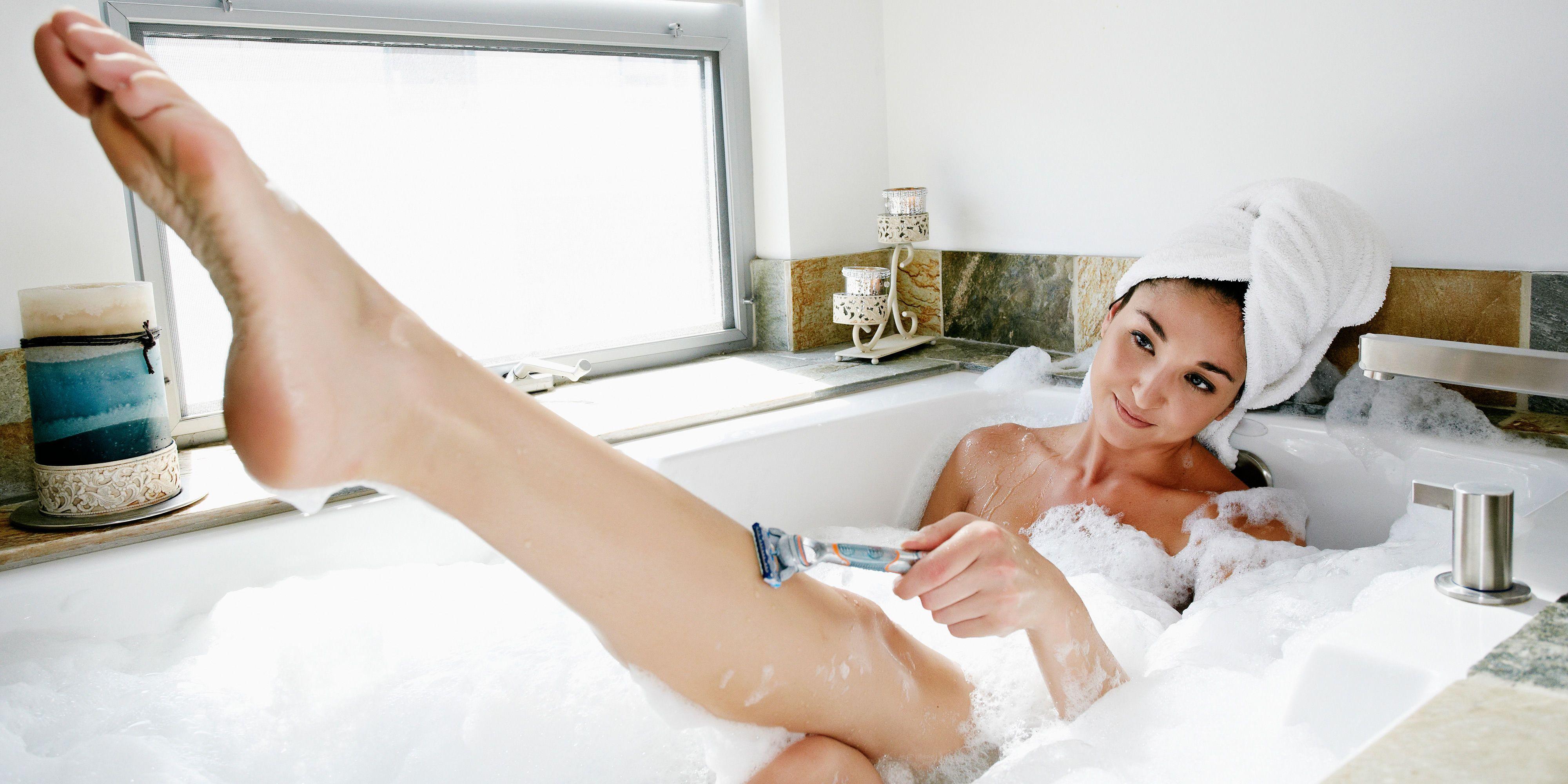 Female nurse shaved female patient