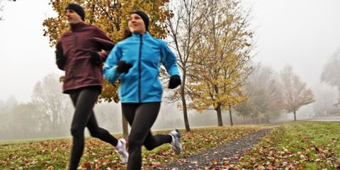 Nature, Leg, Leaf, Deciduous, Active pants, People in nature, Jogging, Outdoor recreation, Running, Woody plant,