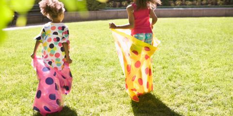 Grass, People in nature, Summer, Spring, Lawn, Play, Garden, One-piece garment, Meadow, Pattern,