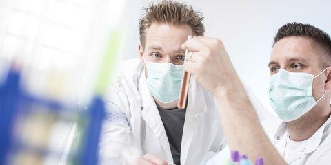 Eye, Eyebrow, Eyelash, Service, Glove, Medical, Safety glove, Science, Health care, Research,