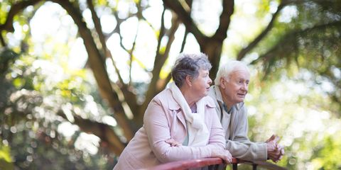 People in nature, Conversation, Wrinkle, Love, Grandparent,