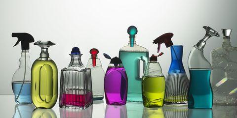 Liquid, Bottle, Fluid, Glass, Magenta, Drinkware, Glass bottle, Lavender, Teal, Perfume,