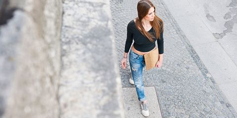 Clothing, Leg, Denim, Trousers, Jeans, Textile, Outerwear, Street fashion, Waist, Youth,