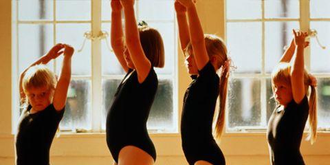 Entertainment, Performing arts, Sportswear, Physical fitness, Waist, Active pants, Dancer, Dance, Back, Leotard,