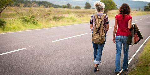 Clothing, Trousers, Denim, Jeans, Road, Textile, Road surface, Bag, Asphalt, Outerwear,