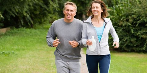 Sleeve, People in nature, Leisure, Jogging, Running, Active pants, sweatpant, Gesture, Laugh, Active shirt,