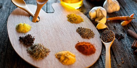 Ingredient, Food, Kitchen utensil, Spice mix, Dish, Finger food, Masala, Cutlery, Recipe, Natural material,