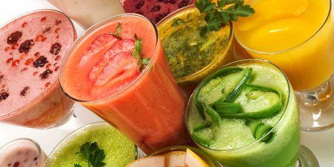 Food, Ingredient, Drink, Vegetable juice, Tableware, Juice, Produce, Health shake, Garnish, Aojiru,