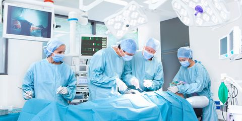 Operating theater, Room, Event, Health care provider, Hospital, Surgeon, Medical assistant, Medical equipment, Job, Scrubs,