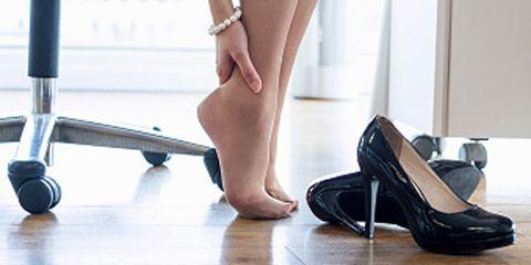 Footwear, Human leg, Toe, Floor, Joint, Flooring, Foot, Jewellery, Fashion, Nail,