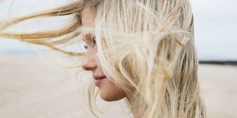 Lip, Hairstyle, Chin, Eyebrow, Eyelash, Jaw, Step cutting, Beauty, Blond, Photography,