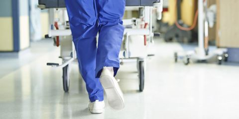 hospital trolley