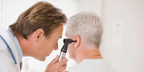 Ear examination (otoscopy)