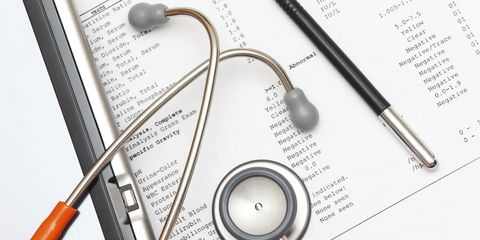 medical test results