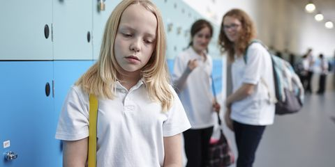 A child being bullied