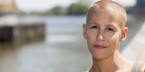 woman with cancer