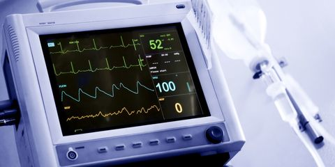 Vital signs monitor, intensive care