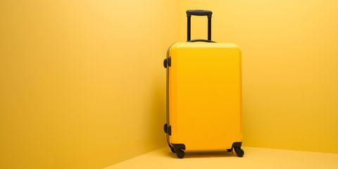 Suitcase for holiday