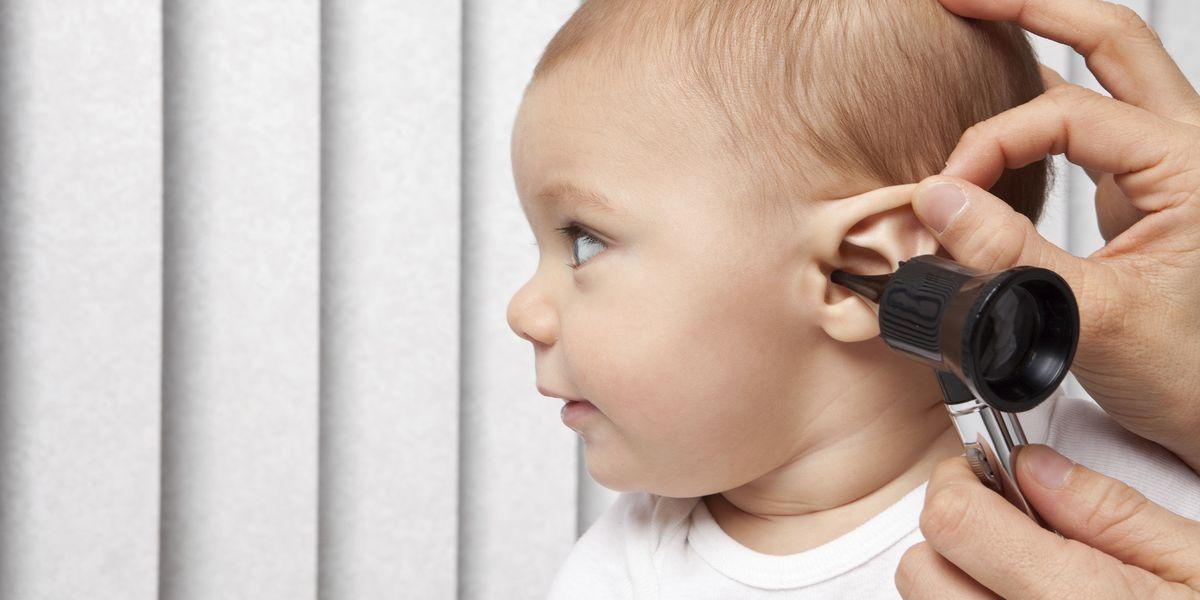 Слуха отита у снижение во ребенка время пап когда беременности сдавать при анализ