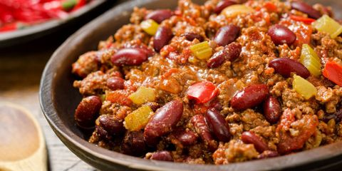Healthy chilli recipe by Sally Bee