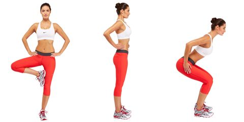Workout moves that get you fit while standing still