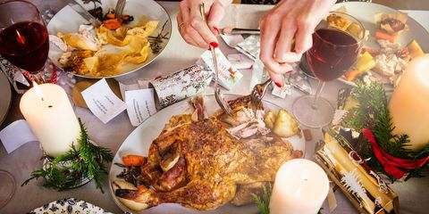 How to make your christmas dinner healthier turkey wine and christmas dinner forumfinder Image collections