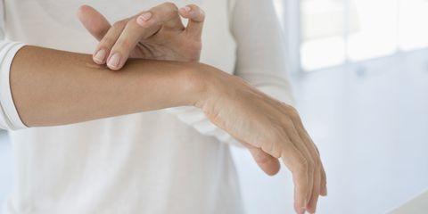 Finger, Skin, Wrist, Hand, Joint, Nail, Thumb, Gesture, Beige, Service,