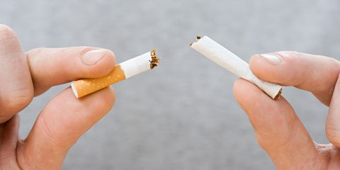 Smoking: cutting down or quitting