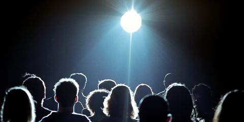 People, Social group, Crowd, Street light, Lens flare, Light, Audience, Space, Celebrating, Concert,