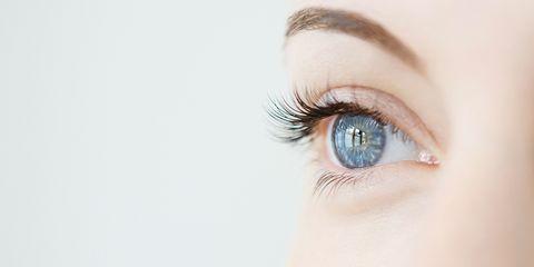 Eyebrow, Eyelash, Eye, Face, Skin, Blue, Organ, Iris, Cosmetics, Close-up,