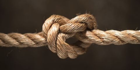 Brown, Rope, Close-up, Knot, Fawn, Fiber, Still life photography, Hardware accessory, Macro photography,