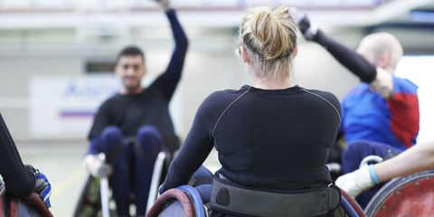 Disability-led fitness event