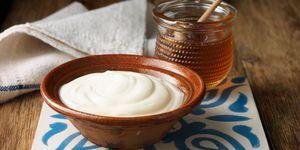 Greek yoghurt with honey