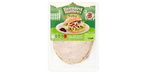 Bernard Matthews Turkey Sage and Onion 5 Breast Slices