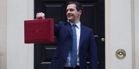 Chancellor George Osborne Budget 2016