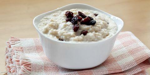 Bowl of porridge oatmeal