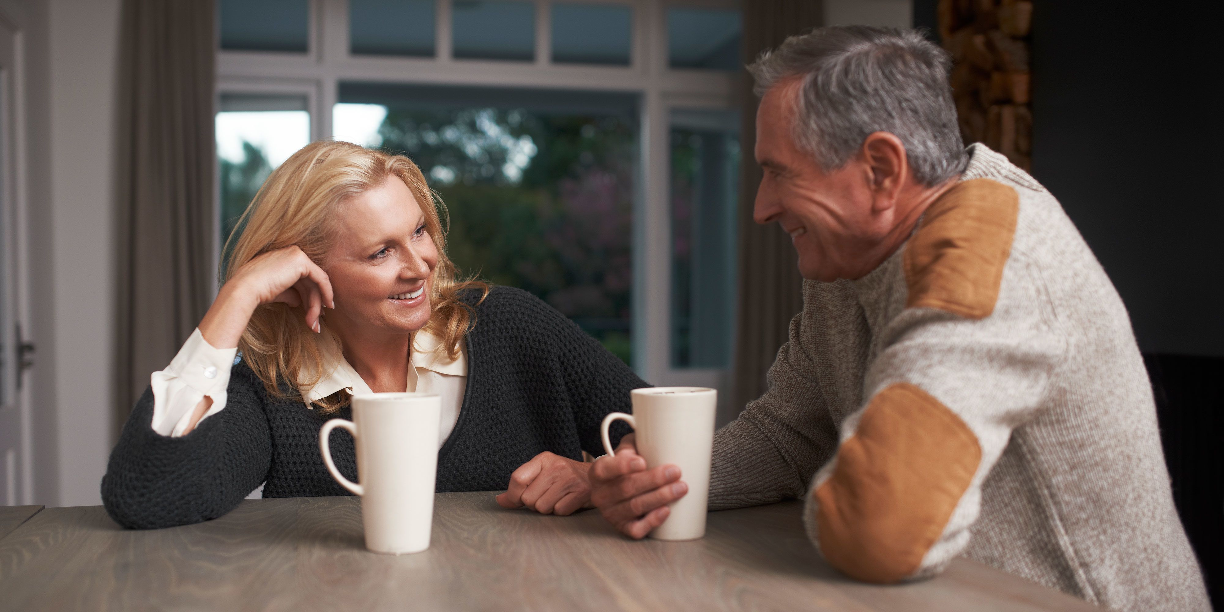 Dating a widowed man