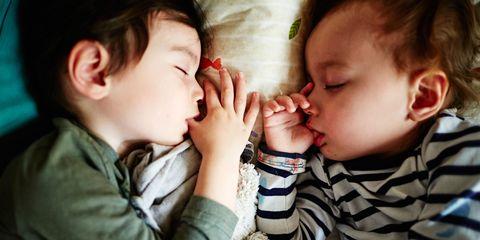 children sucking thumbs asleep - How To Go To Sleep On Christmas Eve