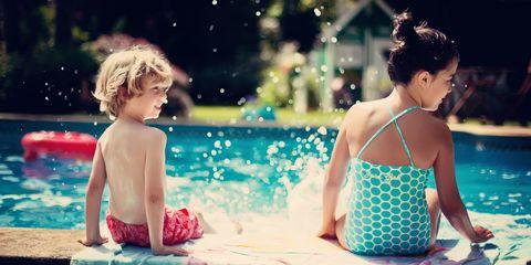 Summer days at pool