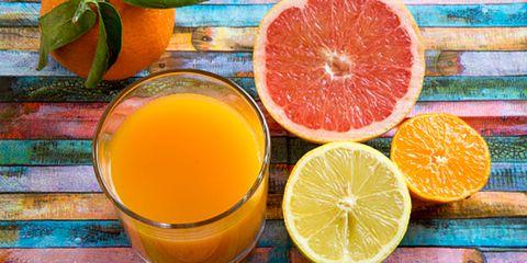Orange, Citrus, Fruit, Natural foods, Ingredient, Juice, Drink, Tangerine, Orange juice, Produce,