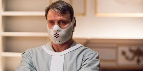 HANNIBAL -- 'The Wrath of the Lamb' Episode 313 -- Pictured: Mads Mikkelsen as Hannibal Lecter --