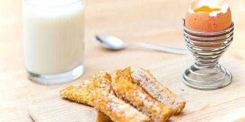 Breakfast egg and toast