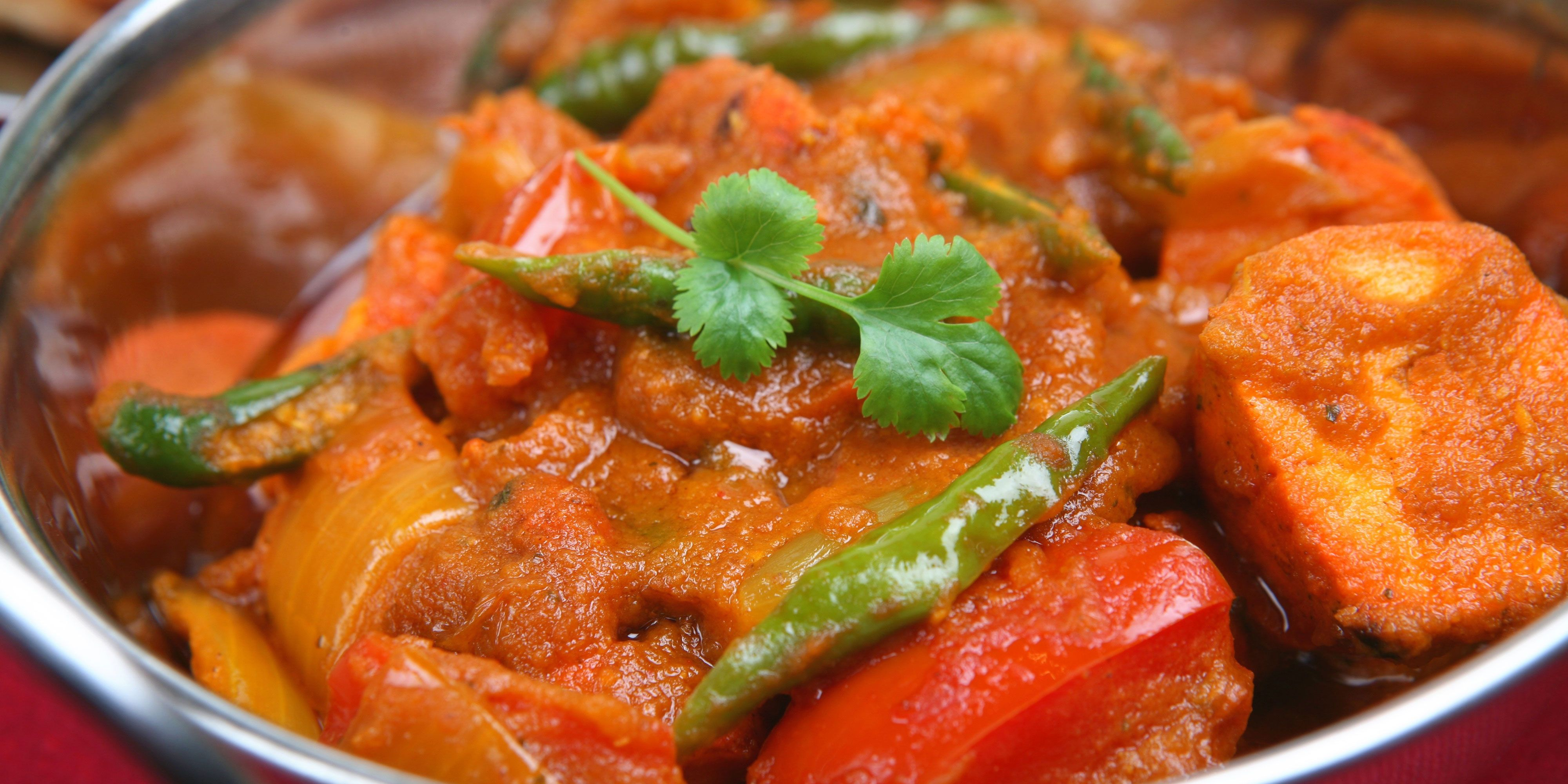 Healthy Chicken Jalfrezi Curry Recipe