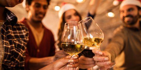 Christmas drinking cheers
