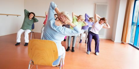 Chair yoga may help the elderly with joint pain, says study