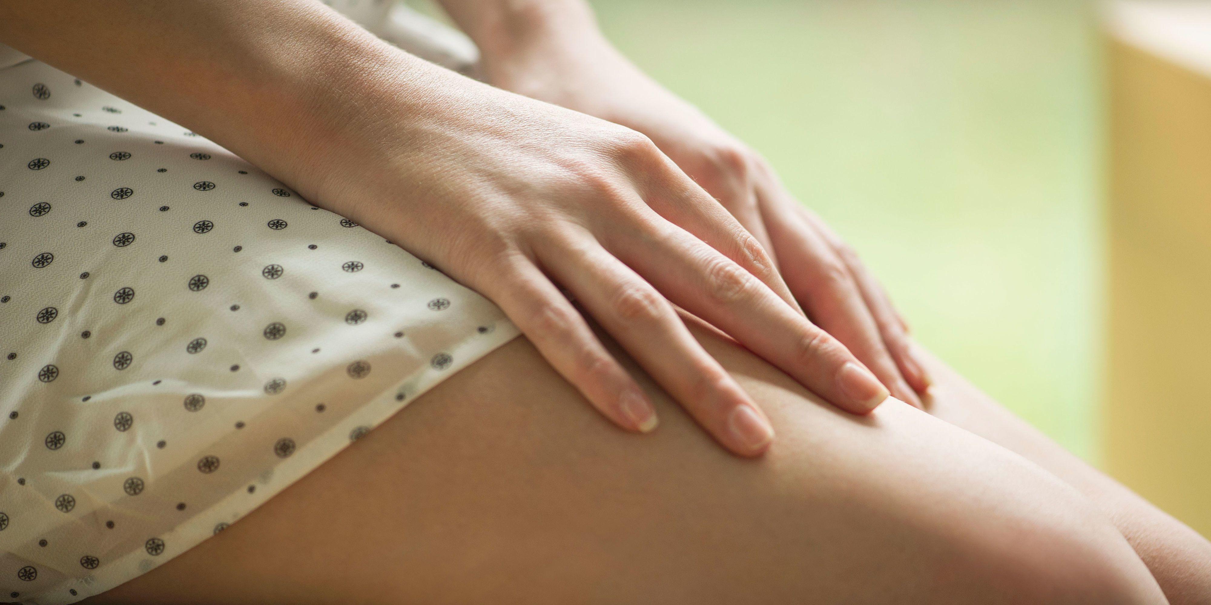 Lower abdominal discomfort after masturbation